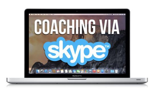 Life coaching via Skype